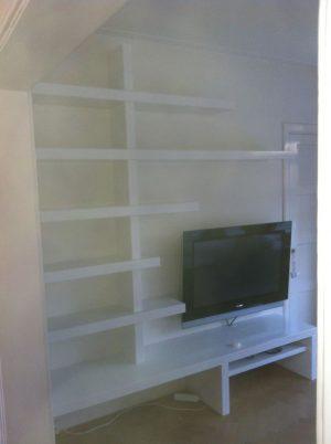 TV Meubel met planken