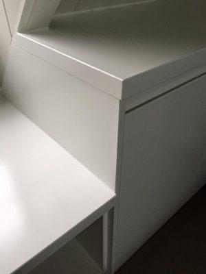 Kasten op zolder detail