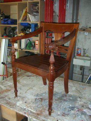 Restauratie stoel