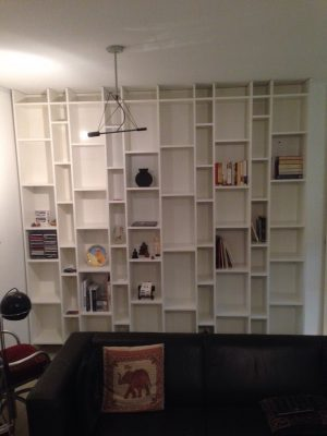 Boekenkast in Woonkamer